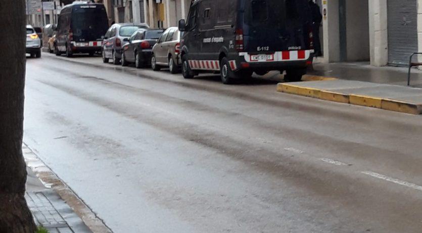 El Mossos van fer dissabte un operatiu antidroga a diversos indrets de Vilafranca i del Penedès