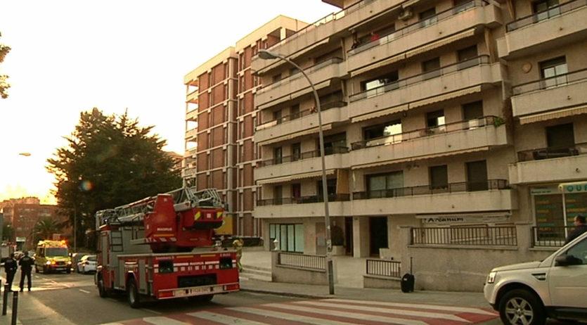 S'ha produït un incendi en un pis del carrer Amàlia Soler