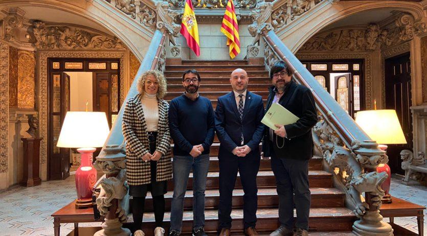 L'Ajuntament de Subirats es reuneix amb el subdelegat del govern per reclamar millores a la 340