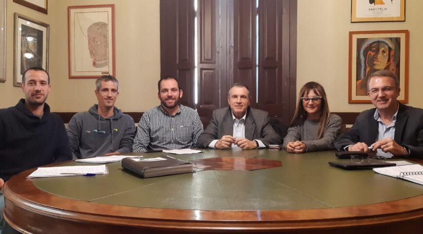L'Ajuntament de Vilafranca dona suport als nous projectes del Centre Excursionista del Penedès