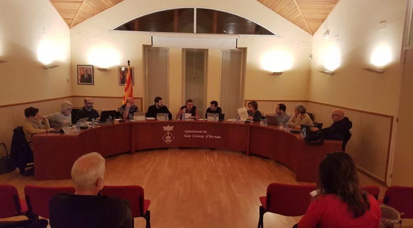 Sant Llorenç d'Hortons aprova per unanimitat el pressupost del 2020 de més de 3 milions d'euros