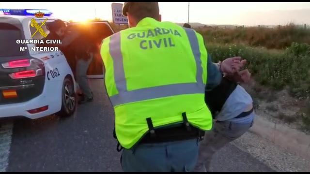 La Guàrdia Civil deté tres persones que van evitar un control de verificació del confinament