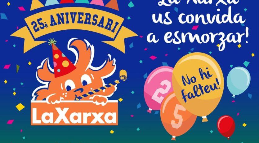 La Xarxa celebra enguany els seus 25 anys a Vilafranca preparant diverses activitats