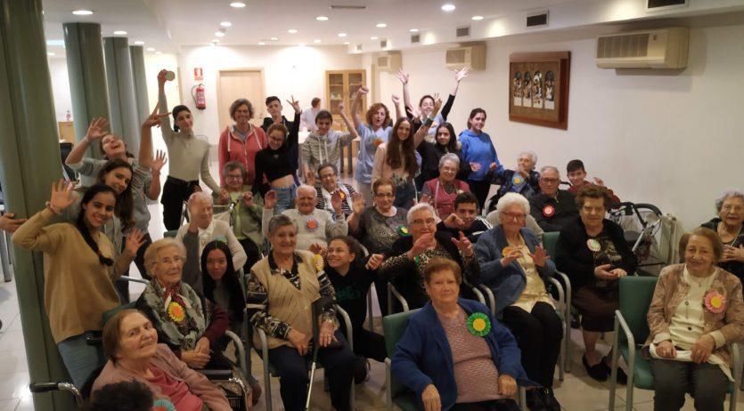 Un missatge «de coratge i agraïment infinit a tots els avis i àvies del món»