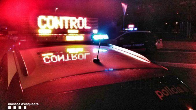 Controls dels Mossos d'Esquadra durant tot el cap de setmana
