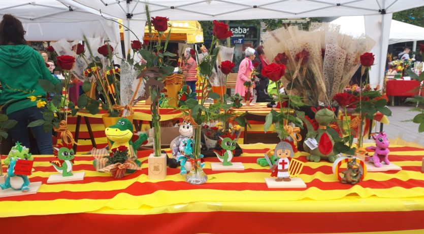S'obre la convocatòria per participar al Mercat de llibres i roses de Sant Jordi