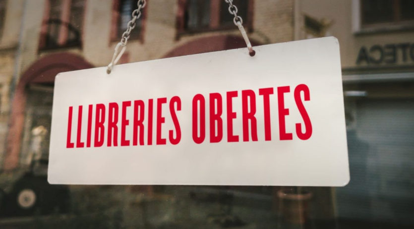 Llibreries de la vila se sumen a la campanya #LlibreriesObertes, per fer compres avançades