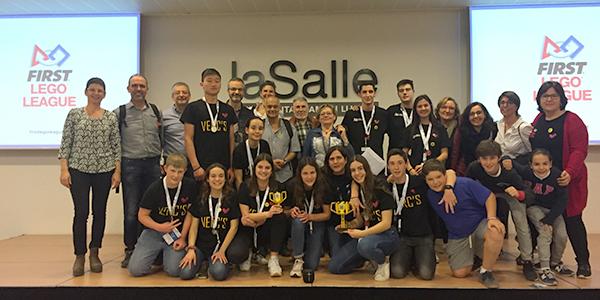 Per 3r any consecutiu l'escola Vedruna Sant Sadurní a la final estatal del First Lego League