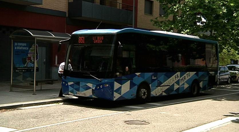 El bus urbà de Vilafranca deixa de ser gratuït a partir de demà