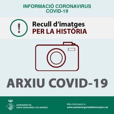 Els Monjos fa una crida ciutadana per crear un arxiu històric sobre el coronavirus