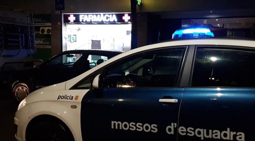Mossos d'Esquadra intensifiquen patrullatges al voltant dels establiments de serveis essencials