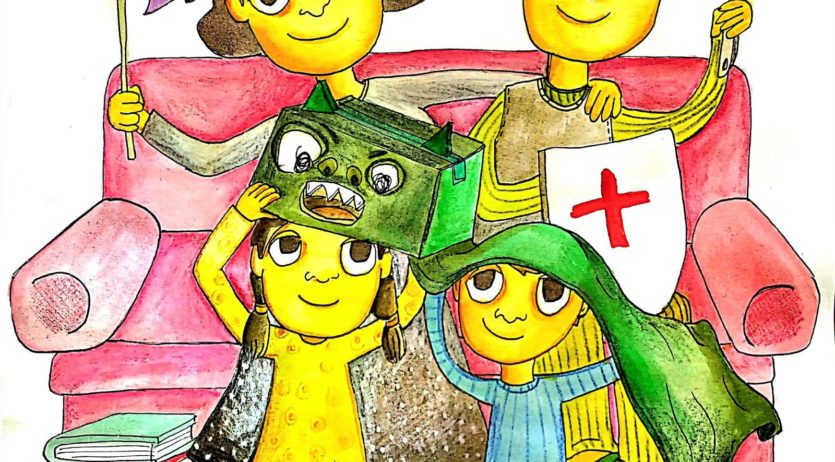 L'Ajuntament de Vilafranca felicita Sant Jordi convidant a fer manualitats amb els més petits