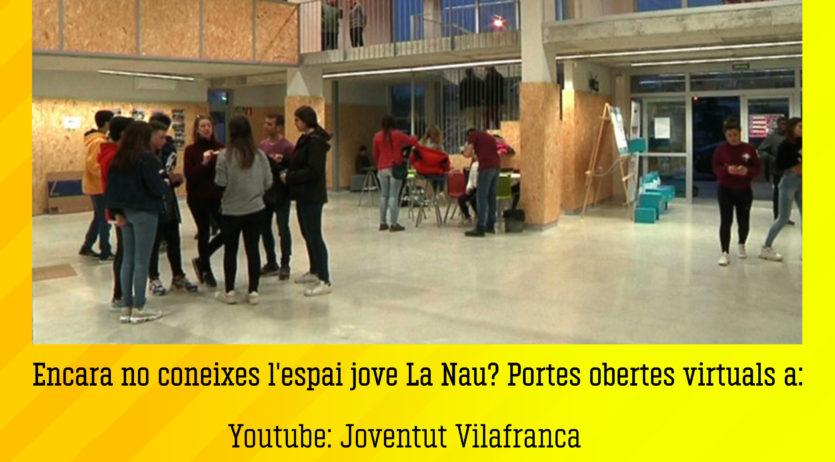 Neix #LaNauVirtual, el nou projecte de l'Espai Jove La Nau en clau de confinament