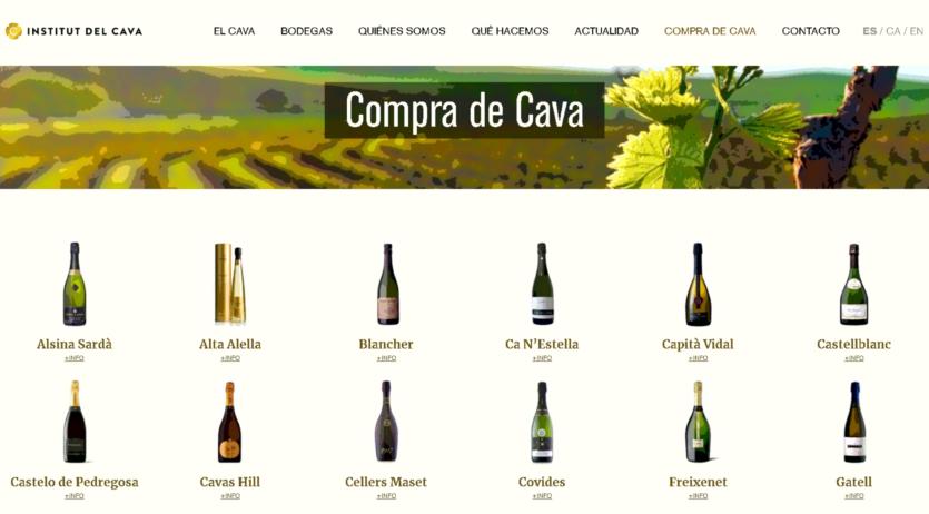 Compracava.com és el nou aparador digital dels cellers elaboradors de Cava