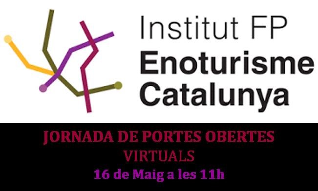 L'Escola d'Enoturisme celebra dissabte una jornada de portes obertes virtual