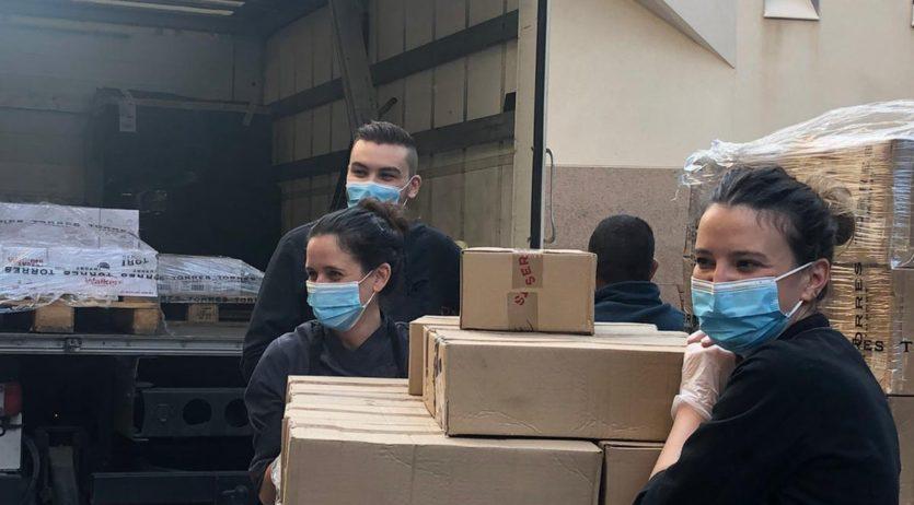 Torres col·labora, mitjançant la donació d'aliments, amb la iniciativa solidària Comer contigo