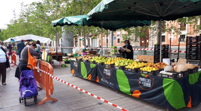 Els mercats no sedentaris de Vilafranca incrementen el nombre de parades