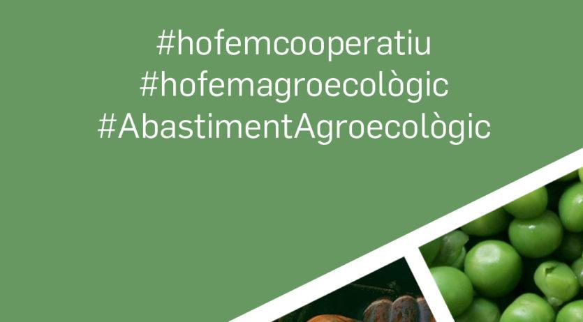 Coopsetània i els grups de consum se sumen a la campanya #hofemagroecològic