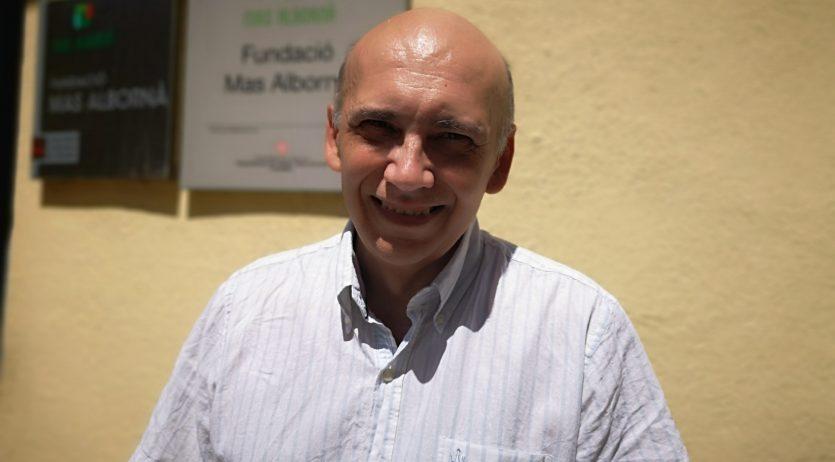 Joan Clotet és el nou director de la Fundació Mas Albornà