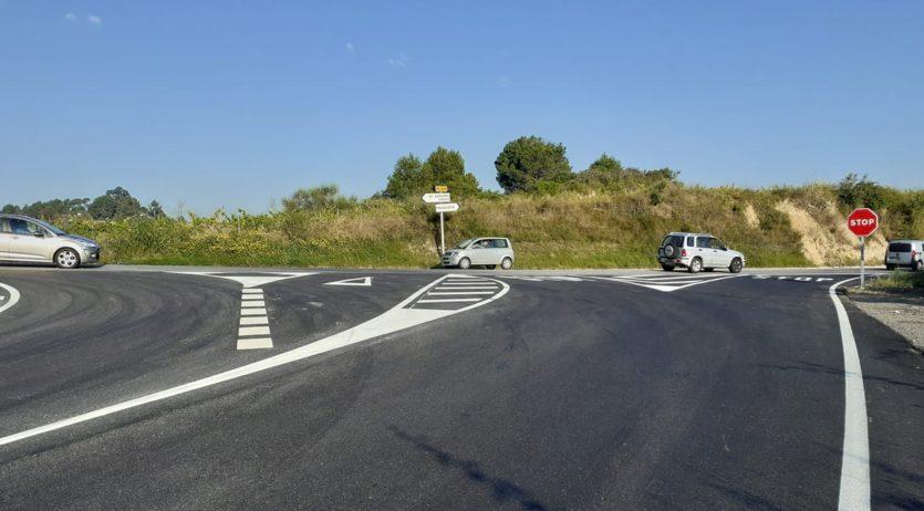 Finalitzades les obres de millora de la carretera BV-2249 a Sant Llorenç d'Hortons i Masquefa