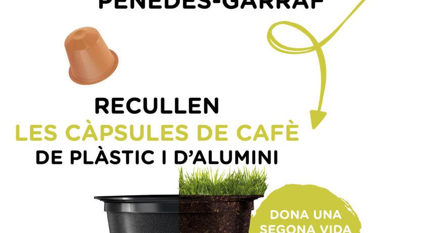 Les deixalleries de la Mancomunitat recolliran les càpsules de cafè per poder-les reciclar