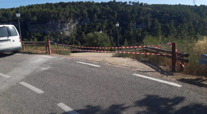 Sant Martí tanca l'aparcament del castell per evitar les trobades nocturnes en aquest espai
