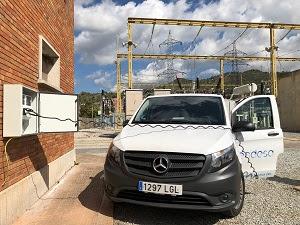 Endesa instal·la punts de recàrrega per als seus vehicles elèctrics a Vilafranca i Subirats