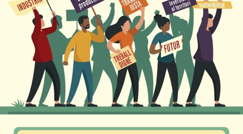 CCOO i UGT convoquen una mobilització el 3 d'octubre pel Futur del Penedès