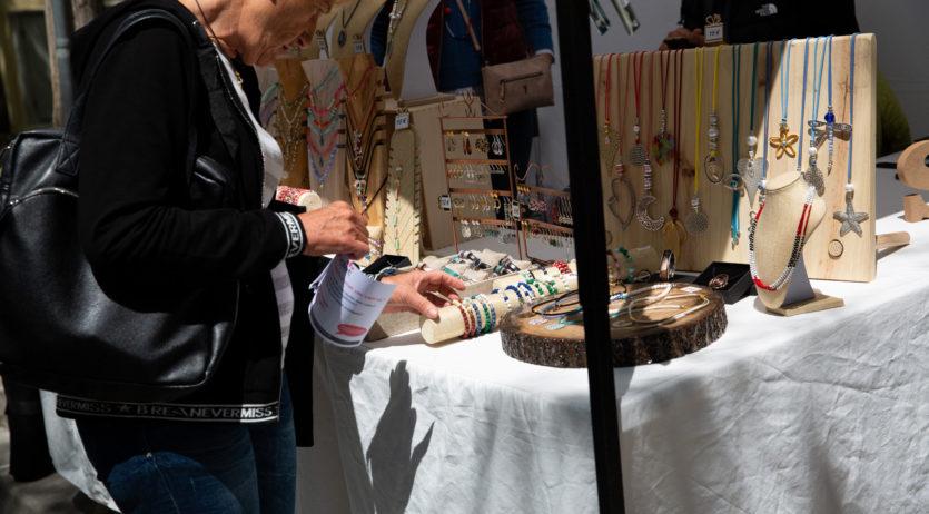 Aquest octubre s'inicia la temporada del mercat d'artesans, brocanters i pintors de Vilafranca