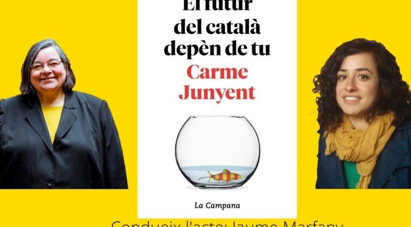 Carme Junyent i Bel Zaballa parlaran sobre el futur del català a L'Agrícol