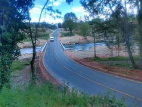 S'inicien obres d'integració paisatgística al pont sobre el riu Anoia a la carretera de Gelida