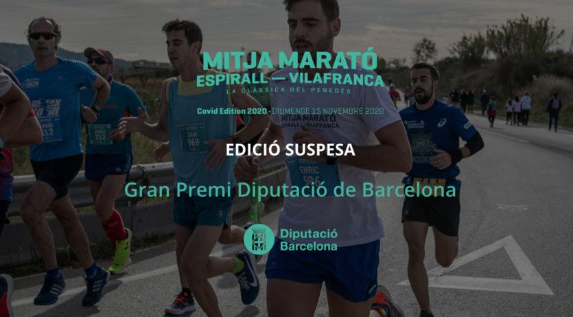 Se suspèn definitivament la Mitja Marató Espirall-Vilafranca 2020