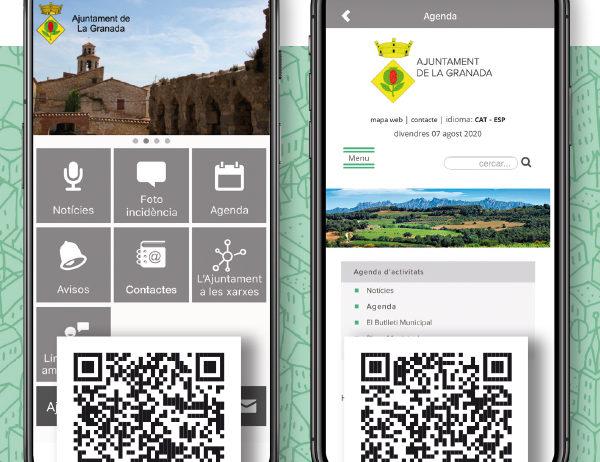 L'Ajuntament de la Granada estrena aplicació mòbil