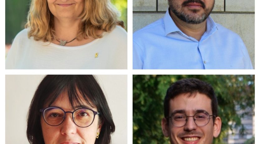 Lluïsa Llop, Jordi Ramos i Montse Espinosa, candidats d'ERC de l'Alt Penedès a les eleccions