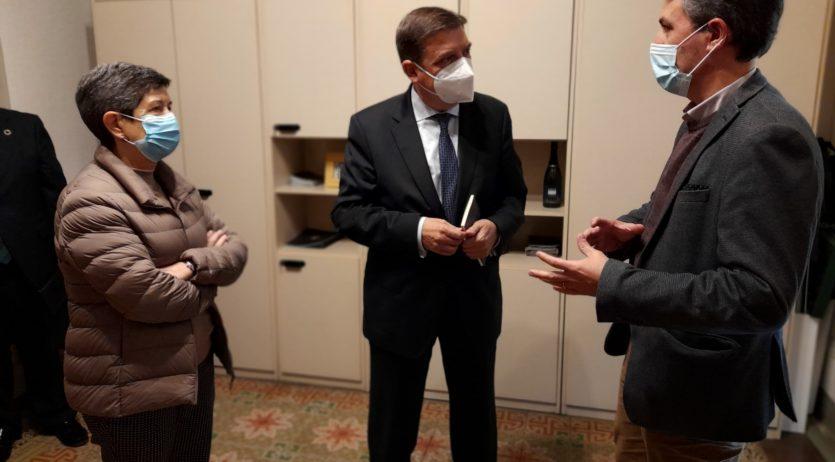 Romero demana al Ministre d'Agricultura suport per aconseguir subvencions dels Fons Europeus
