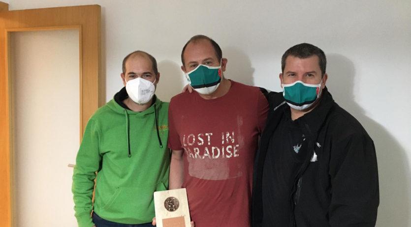 Jordi Oller Recasens i Jaume Grau Adell han rebut els premis Soca-rel del 2020 dels Verds
