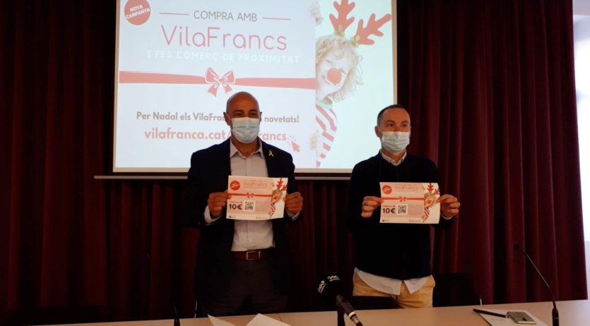 Nova campanya de VilaFrancs de cara a les compres nadalenques