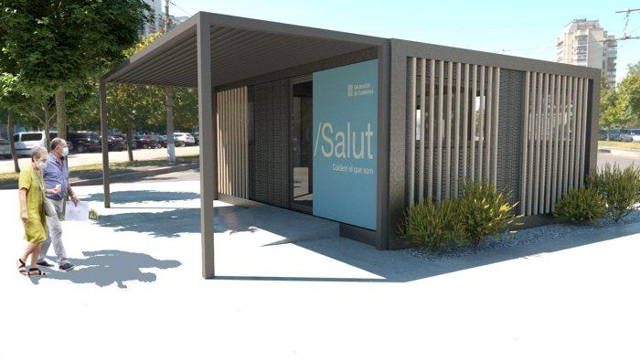 Salut instal·larà a Vilafranca un mòdul de suport per a l'activitat COVID
