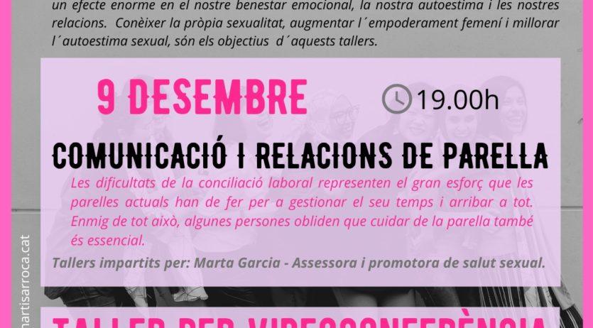 Sant Martí organitza un taller on-line de Comunicació i relacions de parella