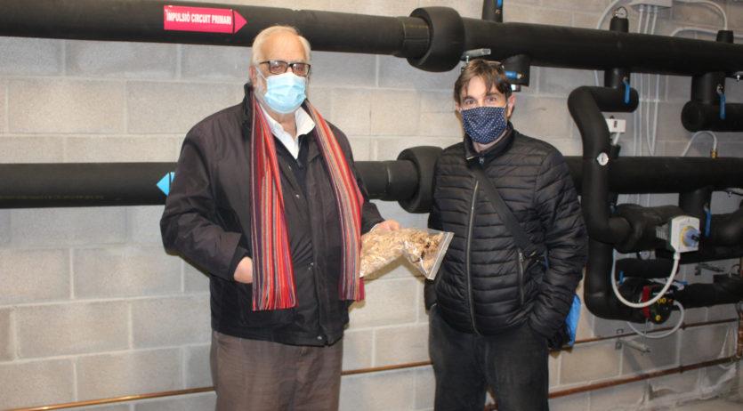Entra en funcionament la caldera de Biomassa de Sant Martí Sarroca