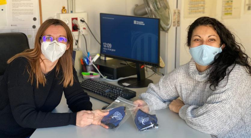 L'Ajuntament de Torrelles distribueix més de 200 mascaretes a l'escola Guerau de Peguera