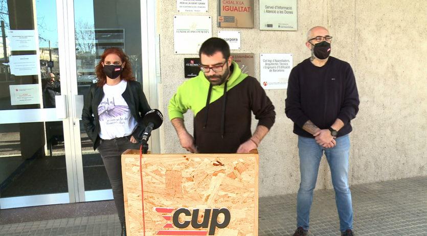 La CUP reclama a l'equip de govern vilafranquí que impulsi un nou protocol d'empadronament