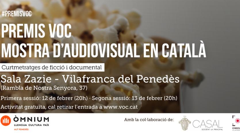 Òmnium Alt Penedès porta els premiats al Versió Original en Català a Vilafranca