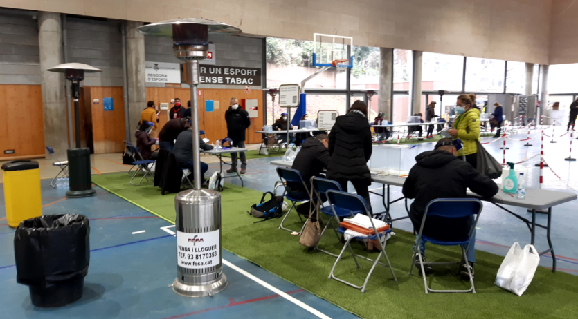 La jornada electoral s'inicia amb normalitat a Sant Sadurní d'Anoia