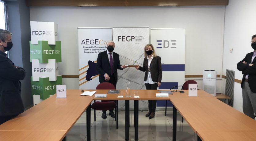 La FEGP i la Cecot signen un conveni de col·laboració per difondre la Reempresa