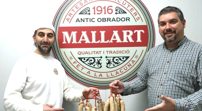 Embotits Mallart, finalista al Concurs Nacional de Botifarra d'Ou Artesana 2021
