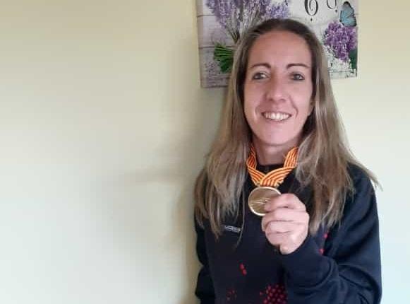 Olga Cabrera es proclama campiona de Catalunya màster absoluta