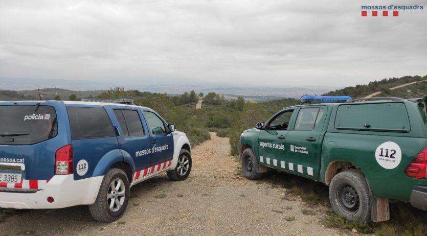 Els Mossos d'Esquadra i els Agents Rurals duen a terme un dispositiu rural a l'Alt Penedès