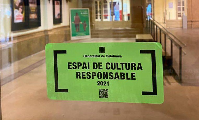 El Teatre Casal reconegut i acreditat com a Espai de Cultura Responsable per la Generalitat