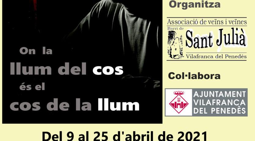 Fotografia i poesia en una exposició a la sala Jaume Palau de l'AVV de Sant Julià